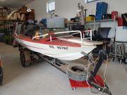 Motorboot Sportboot Angelboot Mariner 28PS