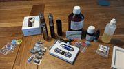 Verdampfer Set E-Zigarette viel Zubehör