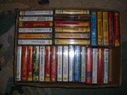 Diverse Kassetten mind 60 Stück