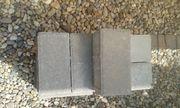 25 Stück Pflastersteine grau - nicht verbaut