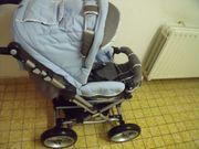 Kinderwagen-Buggy mit Softtragetasche