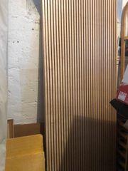 Lärmschutz- Wand- Elemente aus Birkenholz