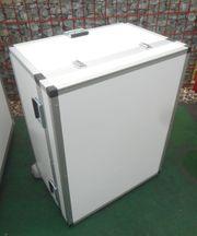Transportbox - Lagerbox - rollbar - abschließbar - Mat