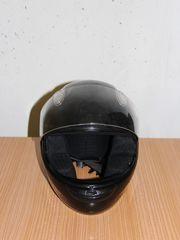 Motorradhelm schwarzer guter Zustand