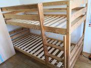 Hochbett für Kinder aus BIO-Massivholz