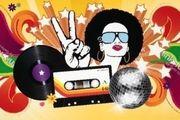 Bühnenbild 70er Jahre Disco 13