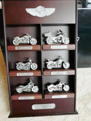 Harley Davidson 100th Pewter Replica