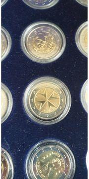 2 Euro verschiedener Länder