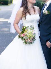 tolles Prinzessin Hochzeitskleid Ladybird Gr
