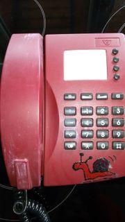Verschenke altes Festnetztelefon