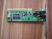 LAN Netzwerk - Karte mit PCI