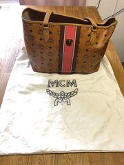 Handtasche Marke MCM mit Gebrauchspuren