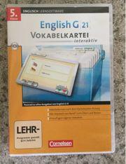 Cornelsen Englisch G 21 Vokabelkartei