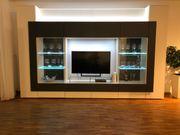 hochwertige moderne massive Wohnwand Collection