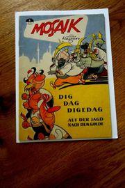 Mosaik Digedags Hannes Hegen Originalheft