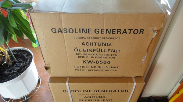 Benzin Notstromaggregat Stromerzeuger Stromgenerator Aggregat