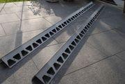 2 Schüko Aluminium Abschlussprofile je