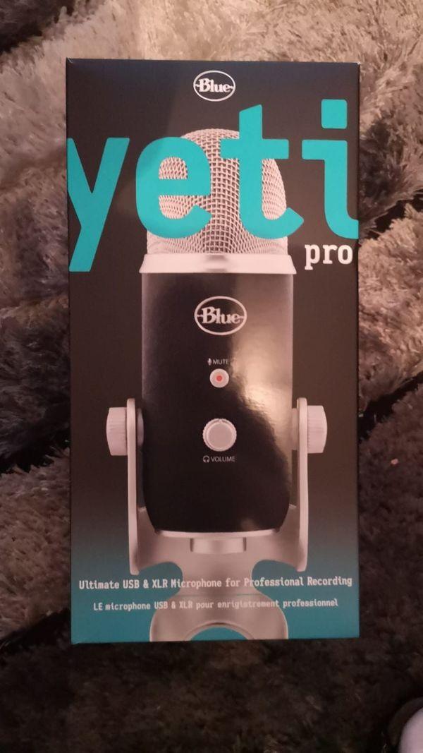 Blue Microphones Yeti Pro Mikrofon Neu