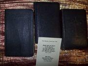 3 x Buch antik 3