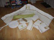 Kinderbettwäsche Set Nestchen Himmel Himmelstange