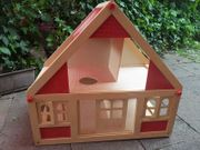 Puppenhaus Puppen Puppen-Möbel Holzspielzeug