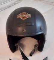 Harley Davidson Motorradhelm Oldstyle