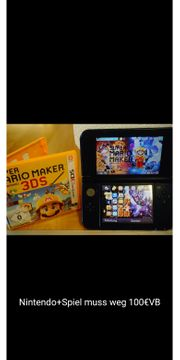 Nintendo 3ds new xl blau