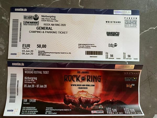 Rock am Ring RAR 2020