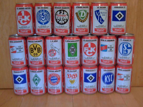 Coca Cola Dosen Sammeldosen Leerdosen