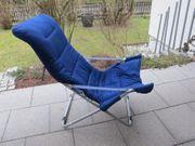 Sessel RelaxStuhl Stoff Höhenverstellbar Klappbar