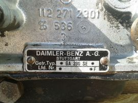 Mercedes-Teile - Automatikgetriebe GA 280 SE für