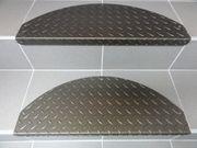 Stufenmatten aus Aluminium