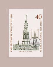 Maximumkarte Berlin Karl Friedrich Schinkel