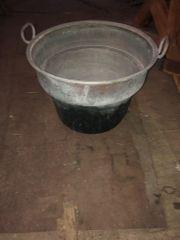 Kesseleinsatz aus Kupfer