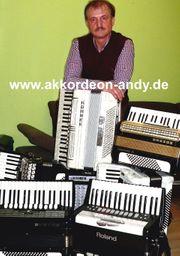Akkordeonspieler in Haltern Hamm Hagen