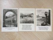 3 Ansichtskarten Fotokunst Groh München