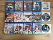 15x PS4 Spiele Games