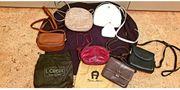 Damenhandtaschenset 7 teilig 1 Geldbörse