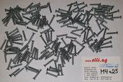 100 St Schrauben Senkkopf 4x25mm