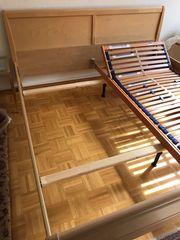 Doppelbett Holz neuwertig