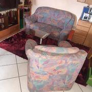 Couch Sofa 2 Sitzer und