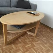 IKEA Couchtisch aus hellem Holz