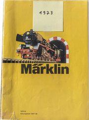 H0 MÄRKLIN Katalog Eisenbahnen 1973