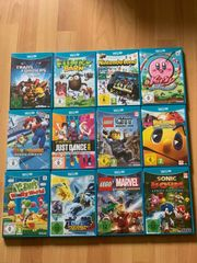 Wii-U-Spiele jeweils im 2er 3er