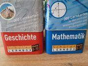 Lernboxen für Mathe und Gesichte