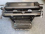 Schreibmaschine Continental Wanderer Werke Siegmar