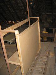 Puppentheater - Gestell Holz