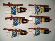 6x Blauröcke Imperial Guards Soldaten