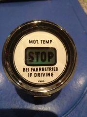 Motor Temperatur Stop Anzeige