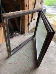 4 Stück - Thermoglas-Fenster mit Kippfunktion